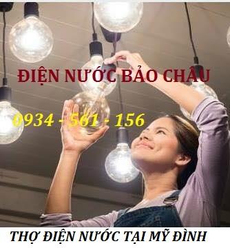 Thợ sửa điện nước tại Mỹ Đình quận Nam Từ Liêm