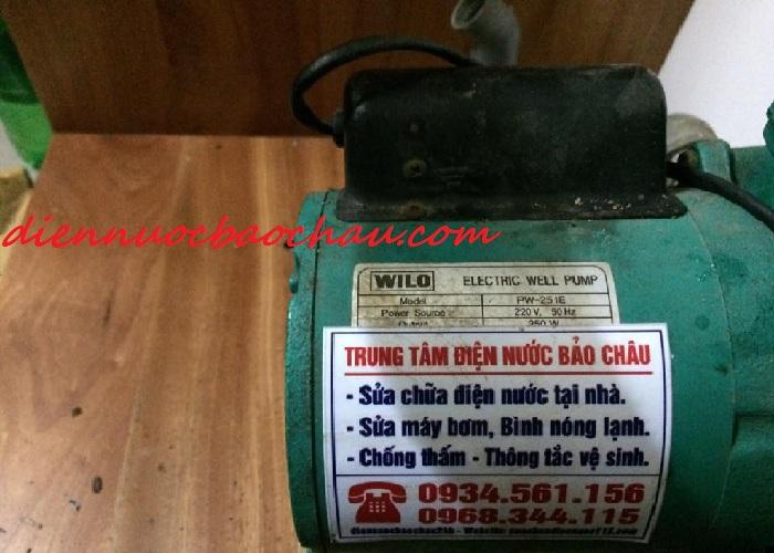 Dịch vụ sửa chữa máy bơm nước tại quận Long Biên