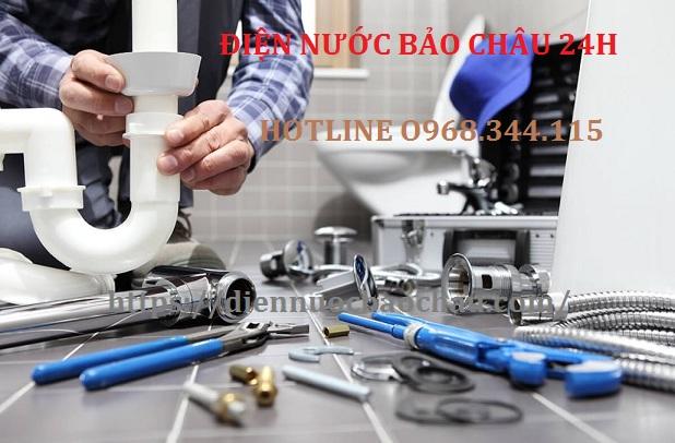 Thợ sửa chữa điện nước tại phường Giang Biên gọi ngay 0968.344.115