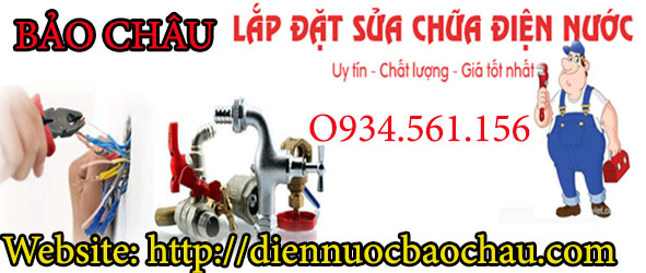 sửa chữa điện nước tại Hoàng Văn Thái giá siêu rẻ.
