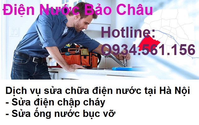 Dịch vụ sửa chữa điện nước tại Nguyễn Khoái.