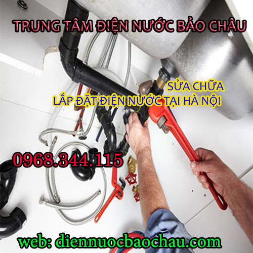 thợ sửa điện nước tại quận Cầu Giấy chuyên nghiệp.