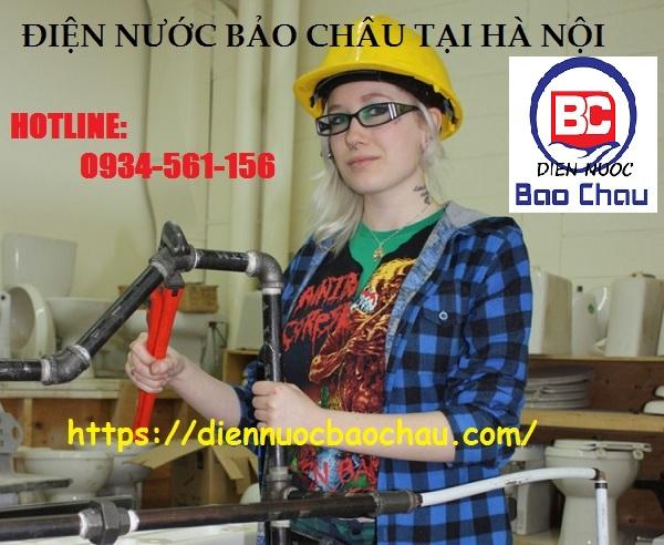 Thợ sửa điện nước ở phường Giang Biên
