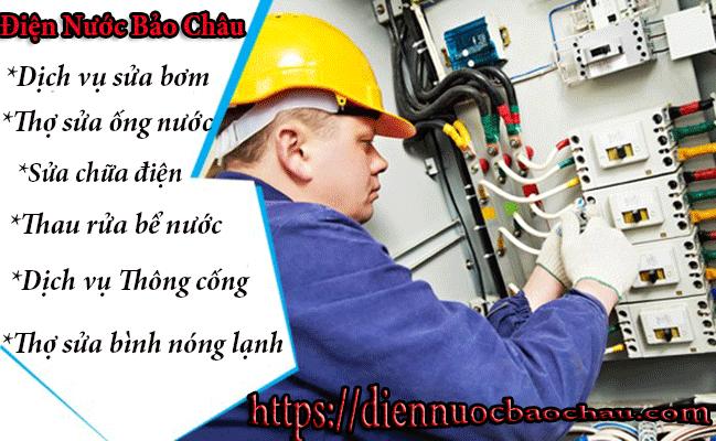 Thợ sửa chữa điện nước ở huyện Thanh Trì