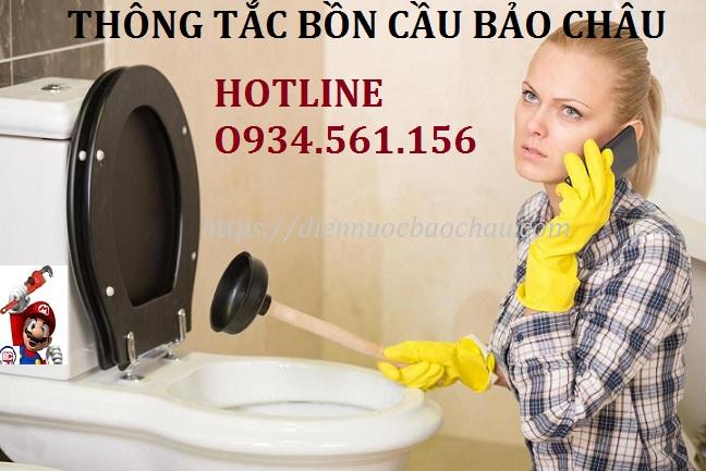 Công ty Bảo Châu chuyên thông tắc cống ngầm ở khu vực Định Công