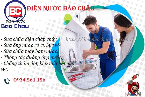 sửa chữa điện nước tại quận Đống Đa 0968 344 115