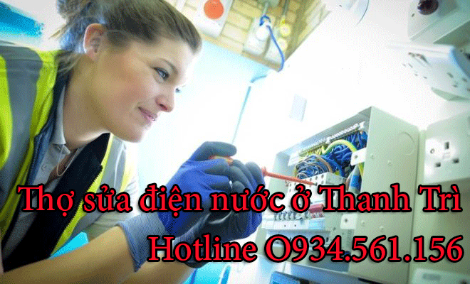 Sửa Chữa Điện Nước Tại Huyện Thanh Trì 0971 896 679